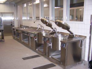 Großküche für die Jugendstrafanstalt Regis-Breitingen